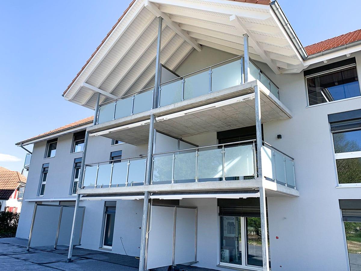 Metallbau Emmental Balkon
