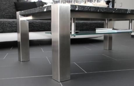 Salontisch Granit Metallbau Emmental