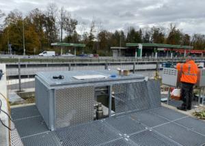 Stahlkonstruktion   Metallbau Emmental   Brandanlagenbau