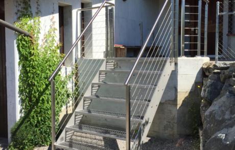 Treppe Metallbau Emmental