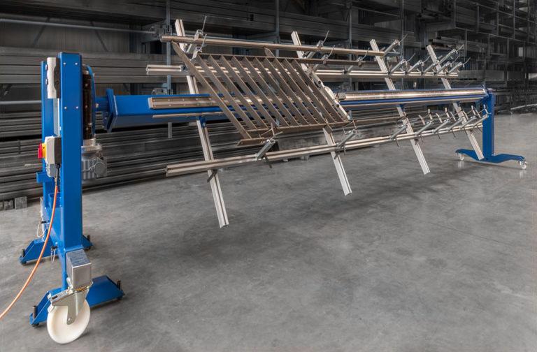 Geländerschweissvorrichtung | Metallbau Emmental | Brandanlagenbau