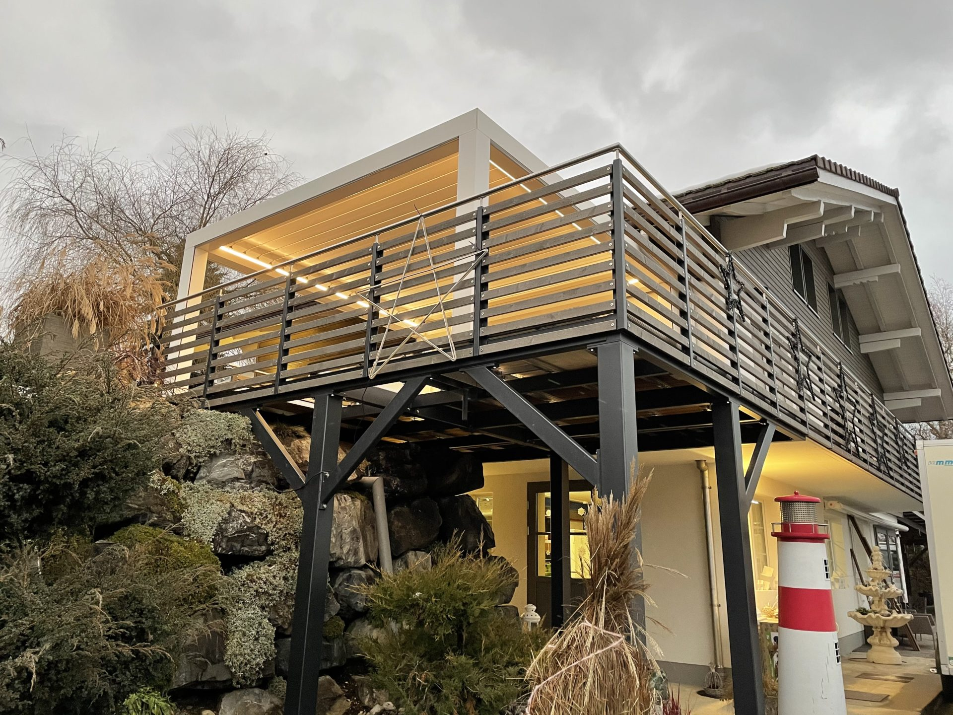 Balkon | Metallbau Emmental | Brandanlagenbau