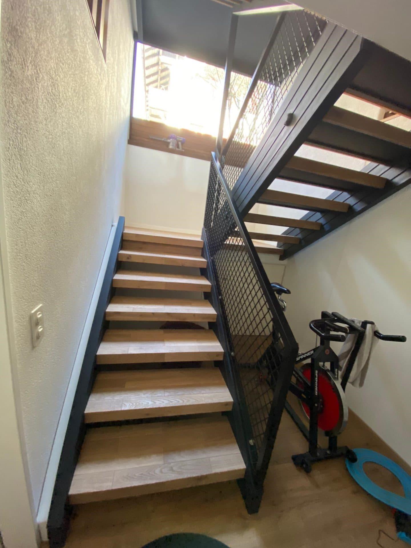 Treppengeländer | Metallbau Emmental | Brandanlagenbau